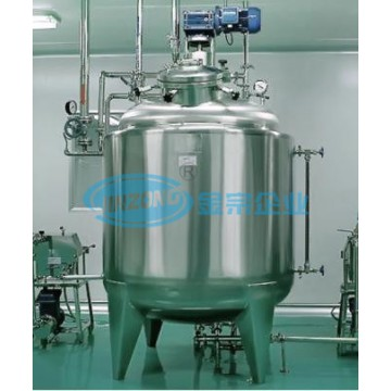 Automatic pharma oral liquid plant capacity 50L-20000L