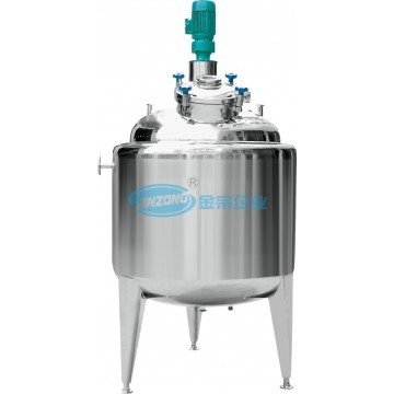 Customized Stainless Steel Mixing Tank Pressure Vessels