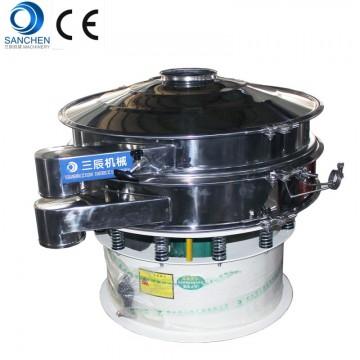 stainless steel 316 ultrasonic vibrating screen for bulk pharmaceutical chemicals
