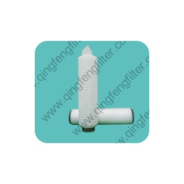 Microporous Hydrophobic PTFE Membrane Pleated Filter Cartridge for Pharmaceutical