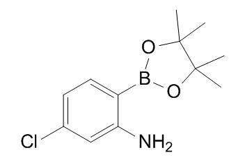 5-Chloro-2-(4,4,5,5-tetramethyl-1,3,2-dioxaborolan-2-yl)aniline
