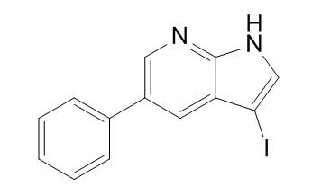 3-iodo-5-phenyl-1H-pyrrolo[2,3-b]pyridine