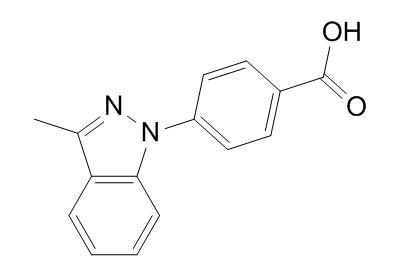 4-(3-methyl-1H-indazol-1-yl)benzoic acid