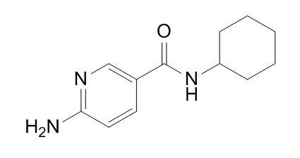 6-amino-N-cyclohexylnicotinamide