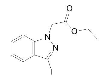 ethyl 2-(3-iodo-1H-indazol-1-yl)acetate