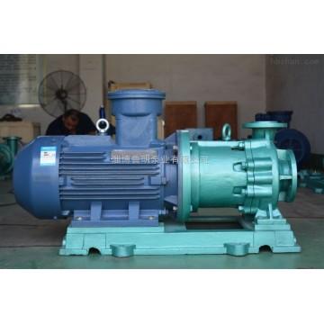 Fluoroplastic magnetic pump