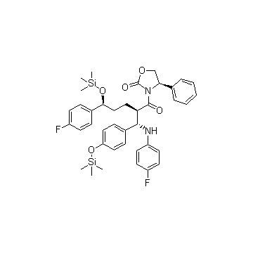 3-[(2R,5S)-5-(4-Fluorophenyl)-2-[(S)-[(4-fluorophenyl(amino)]][4-[trimethylsilyl]-oxy]phenyl]methyl]