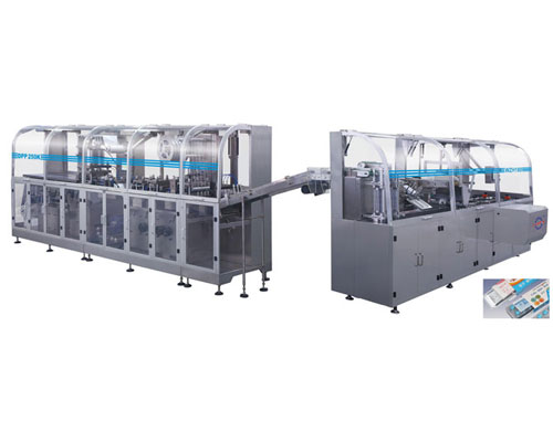 DPP250K/WZH-180 Medicine Packing Automatic Production line labelling machine