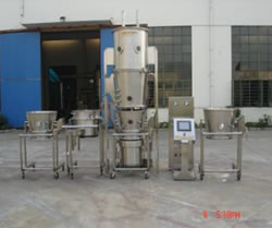 Flp fluid-bed granulator/pelletor