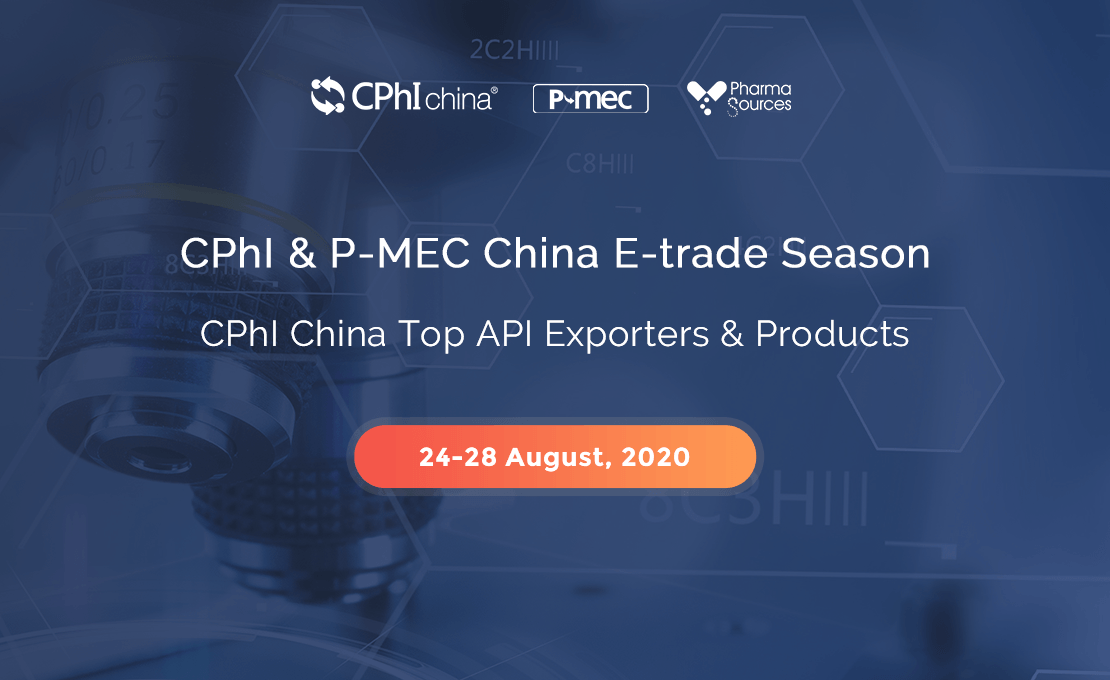 PharmaSources.com to Help Propel the Chinese API Export Business with E-Trade Session CPhI China Top API Exporters & Products